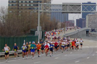 Cleveland Marathon 2004 � Photo by Richard Boehm
