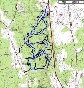 Blackstrap Hell Trail Challenge Course Map