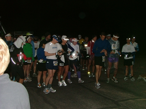 Running From An Angel Starting Line