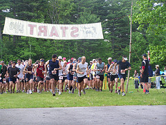 Pineland Farms Starting Line