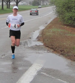 Blaine Moore at the Exeter Marathon
