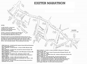 exeter course map