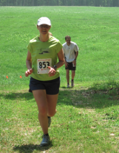 Erin in the 25k