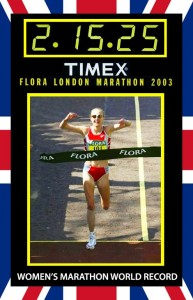 Restore Paula Radcliffe's Record