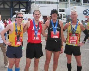 Houston Marathon Finish